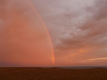 078 Regenbogen nach San Antonio
