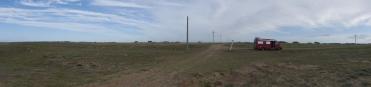 159 Panorama am Strand