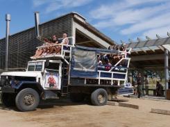 Truck nach Cabo Polonio