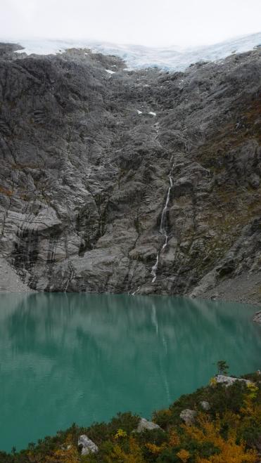 006 Glaciar, Salto, Laguna Bosque Encantado