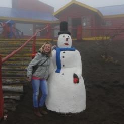 004 auf dem Volcán Osorno