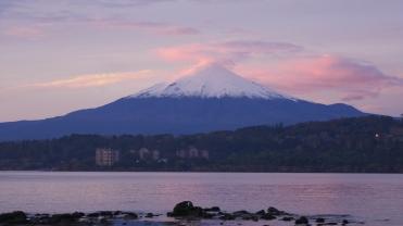 004 Vulcán Villarrica morgens
