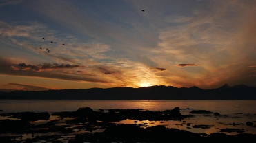 005 Sonnenaufgang in Villarrica