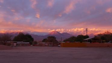 003 San Pedro de Atacama mit Sicht auf Licancabur