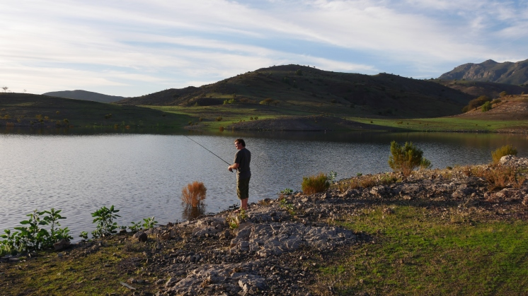 005 am Lago Embalse Cogoti