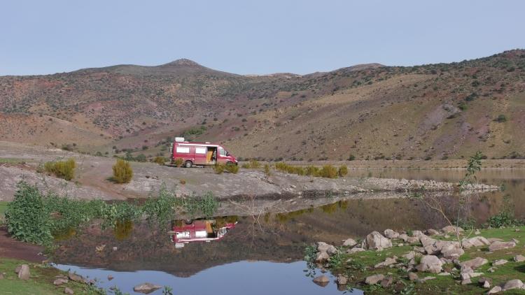 006 am Lago Embalse Cogoti