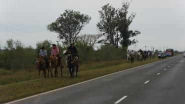 001 Fahrt nach Paraguay, Pilgerung zur Virgen de Itatí