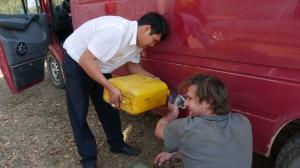 001 Tanken in Bolivien