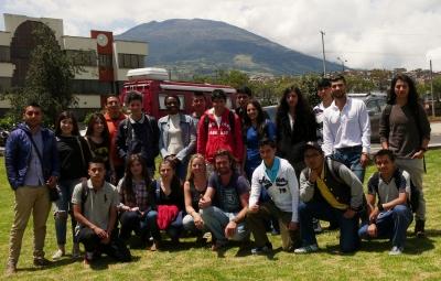 001 Englischklasse der Uni in Pasto