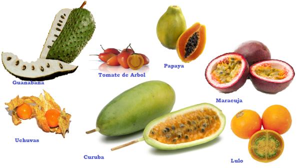 Frutas Columbiano