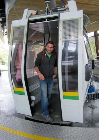 001 Metrocable nach Medellín