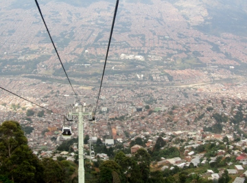 002 Metrocable nach Medellín