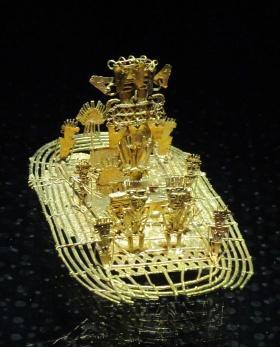 006 Balsa Muisca im Museo del Oro