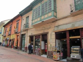 010 im Altstadtviertel La Candeleria