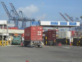 03 Hafen in Cartagena_Verschiffung nach Panamá