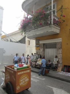 06 Strassenecke in Cartagena