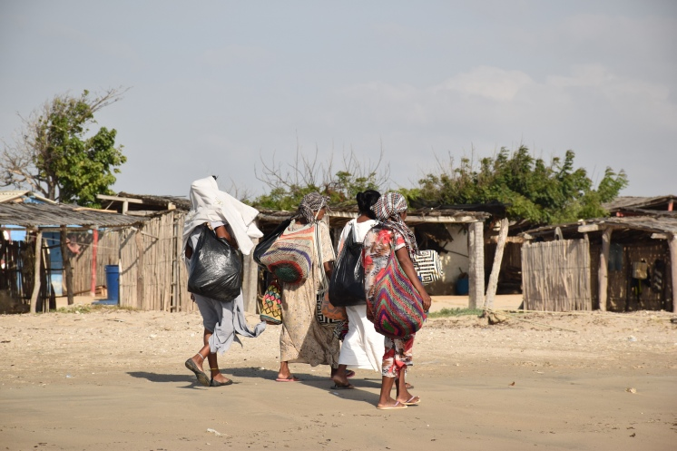06 Wayuu Frauen in Cabo de la Vela