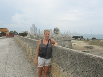 14 Stadtmauer Cartagena