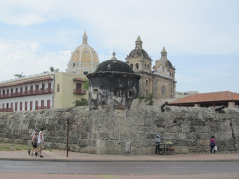 16 Stadtmauer Cartagena