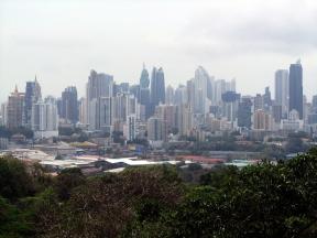 001 Sicht auf Panama City