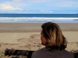 004 Blick aufs Meer Beach Cabines Las Lajas