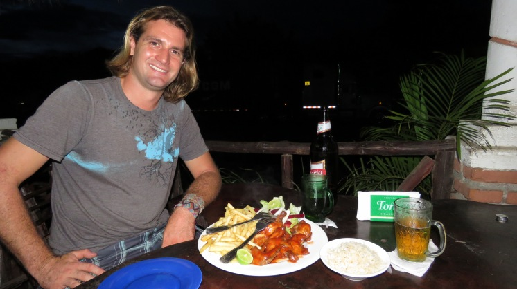 001 Abendessen bei Doña Carla
