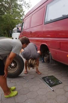001 Reifenflick und -wechsel