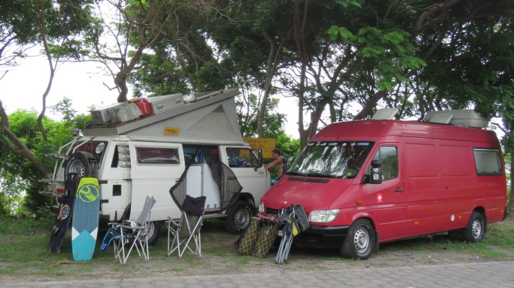 001 Stellplatz Playa Santa Cruz