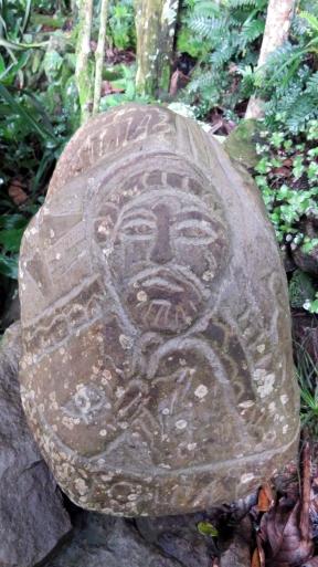 002 Esculturas en piedra El Jalcate