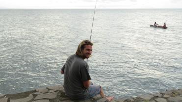 002 Fischen am Lago Nicaragua
