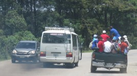 003 auf den Strassen Honduras