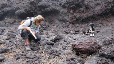 002 Magmagestein Volcán Pacaya