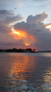 004 Sonnenuntergang Isla Flores