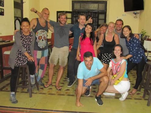 001 Reisende im Hostel La Ermita