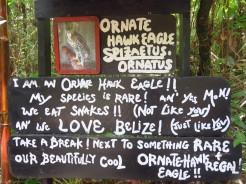 001 Schild im Belize Zoo