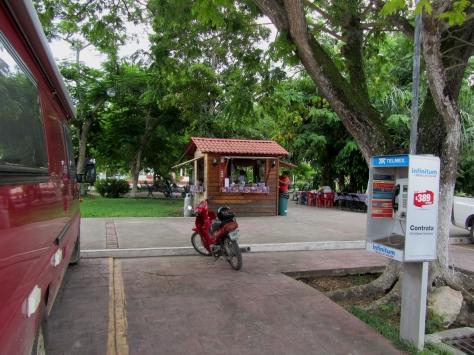 001 Stellplatz Parque Principal de Bacalar