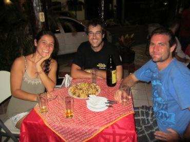002 mit Sabrina & Manuel in Bacalar