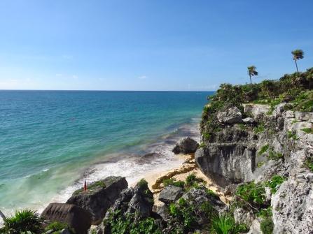 002 Tulum Maya-Ruinen