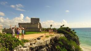 004 Tulum Maya-Ruinen