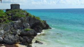 005 Tulum Maya-Ruinen