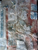 002 Flachrelief im Museo de Sitio Palenque