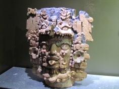 003 Skulptur im Museo de Sitio Palenque