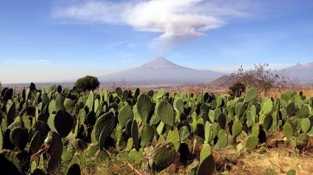 001 Vulkan Popocatépetl
