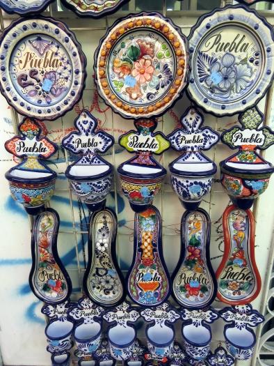006 Keramik in Puebla