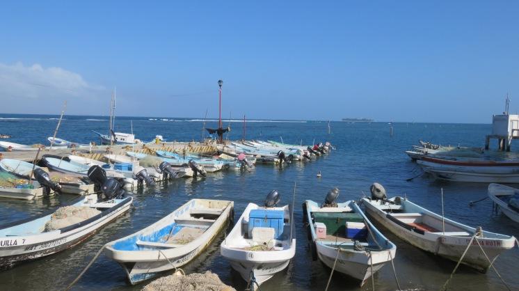 001 Fischerboote in Veracruz