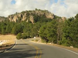 004 Fahrt durch den Kupfercanyon