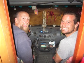 005 John & Thomas im Party-Bus Rudolph
