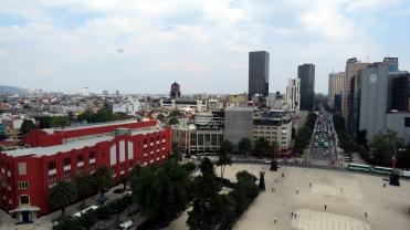 005 Aussicht vom Monumento a la Revolución